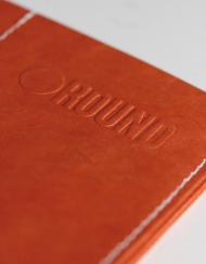 Round Clothing | Portafogli in Tyvek Slimfold Wallet Arancione