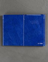 Round Clothing | Portafogli in Tyvek Slimfold Wallet Blu