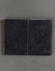 Round Clothing | Portafogli in Tyvek Slimfold Wallet Nero