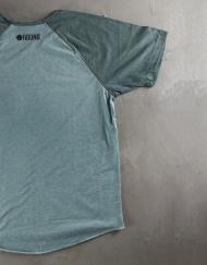 Round Clothing | Logo Collection - T-shirt Verde Menta con taschino tondo Verde