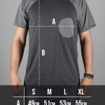 Round Clothing   Guida alle taglie - T-shirt