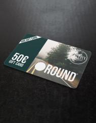 Round Clothing   Gift Card 50 EURO